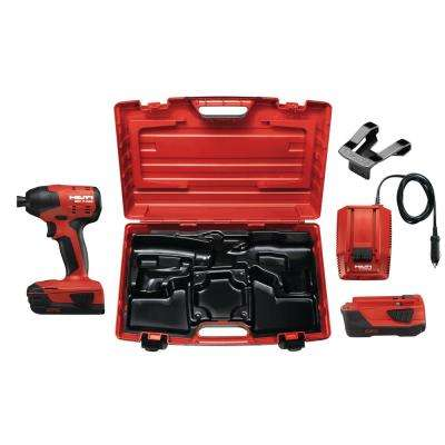22-Volt SID 4 Advanced Compact Battery Cordless Impact Driver with Plastic Case