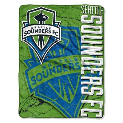 S Sounders Concrete Multi-Color Polyester Micro Raschel