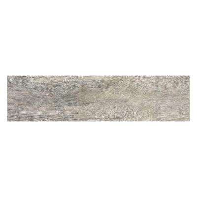 Montagna Dapple Gray 6 in. x 24 in. Porcelain Floor and Wall Tile (14.53 sq. ft. / case)