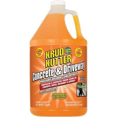 1 gal. Concrete and Driveway Pressure Washer Concentrate