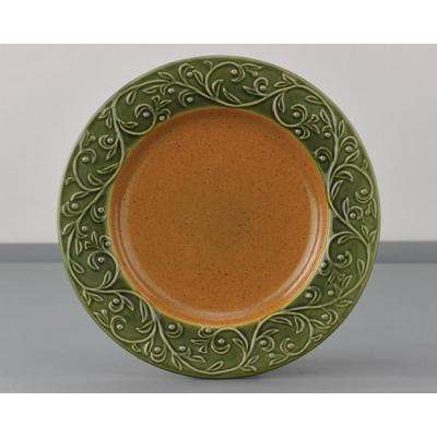 Verona Green Dinner Plate (Set of 4)