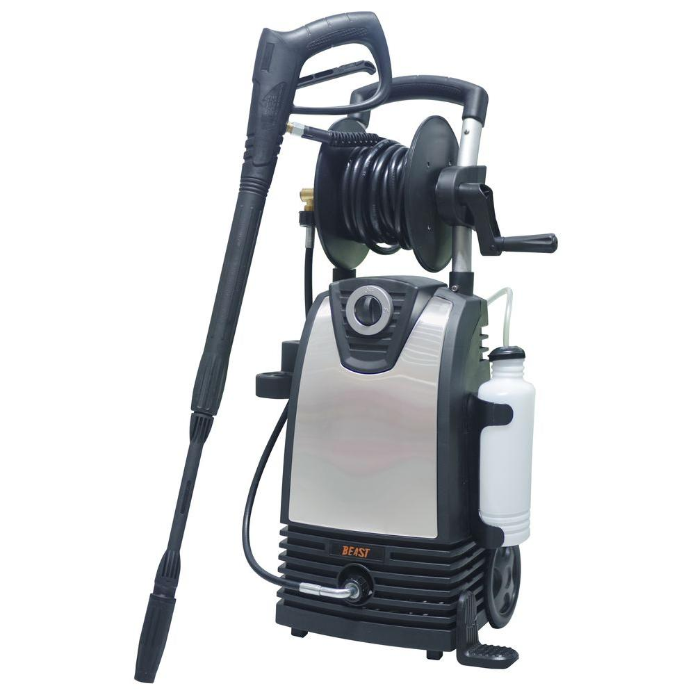 Beast 1,800 psi 1.4 GPM Electric Pressure Washer with Accessories Included