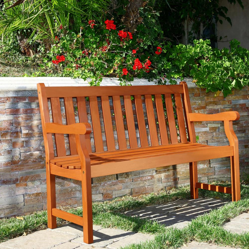 Henley Eucalyptus 2 Seater Patio Bench