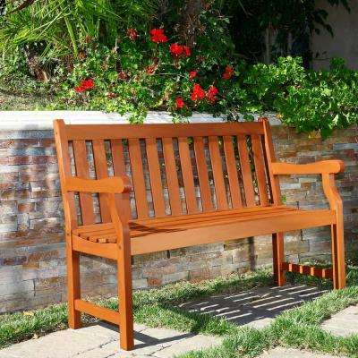 Henley Eucalyptus 2-Seater Patio Bench