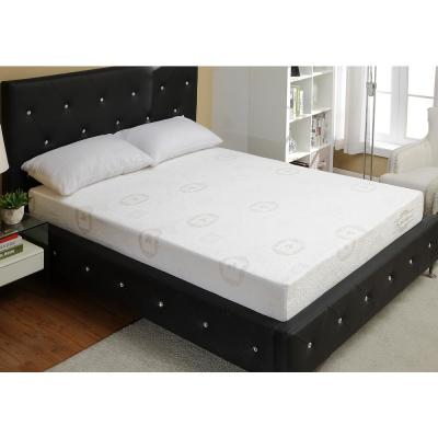 10-Inch Green Tea Infused Memory Foam Mattress with Foam Queen Available in Various Sizes