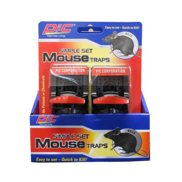 Simple Set Mouse Trap (12-Pack)