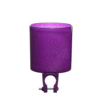 Prince-ss Purple Sparkles Bicycle Drink Holder