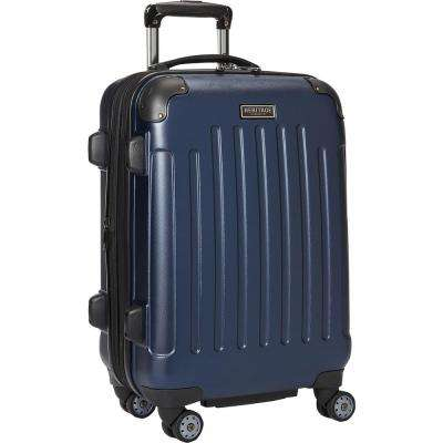 """Logan Square"" Collection Lightweight Hardside ABS 8-Wheel Expandable 20 in. Carry-On Luggage With Corner Guards"