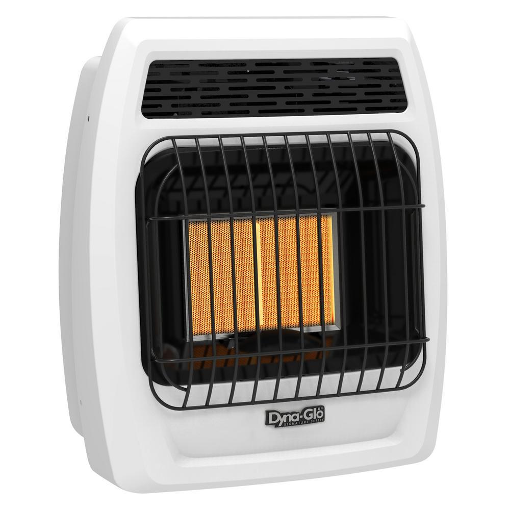 12,000 BTU Vent Free Infrared Liquid Propane Thermostatic Wall Heater