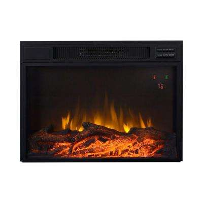 25 in. 1,500-Watt Electric Firebox Insert with Remote Control