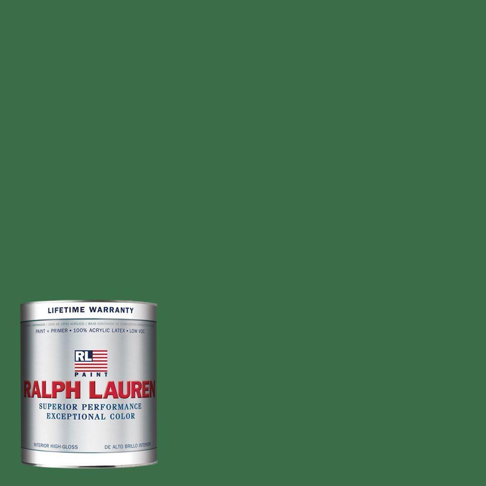 Ralph Lauren 1-qt. Green Jacket Hi-Gloss Interior Paint