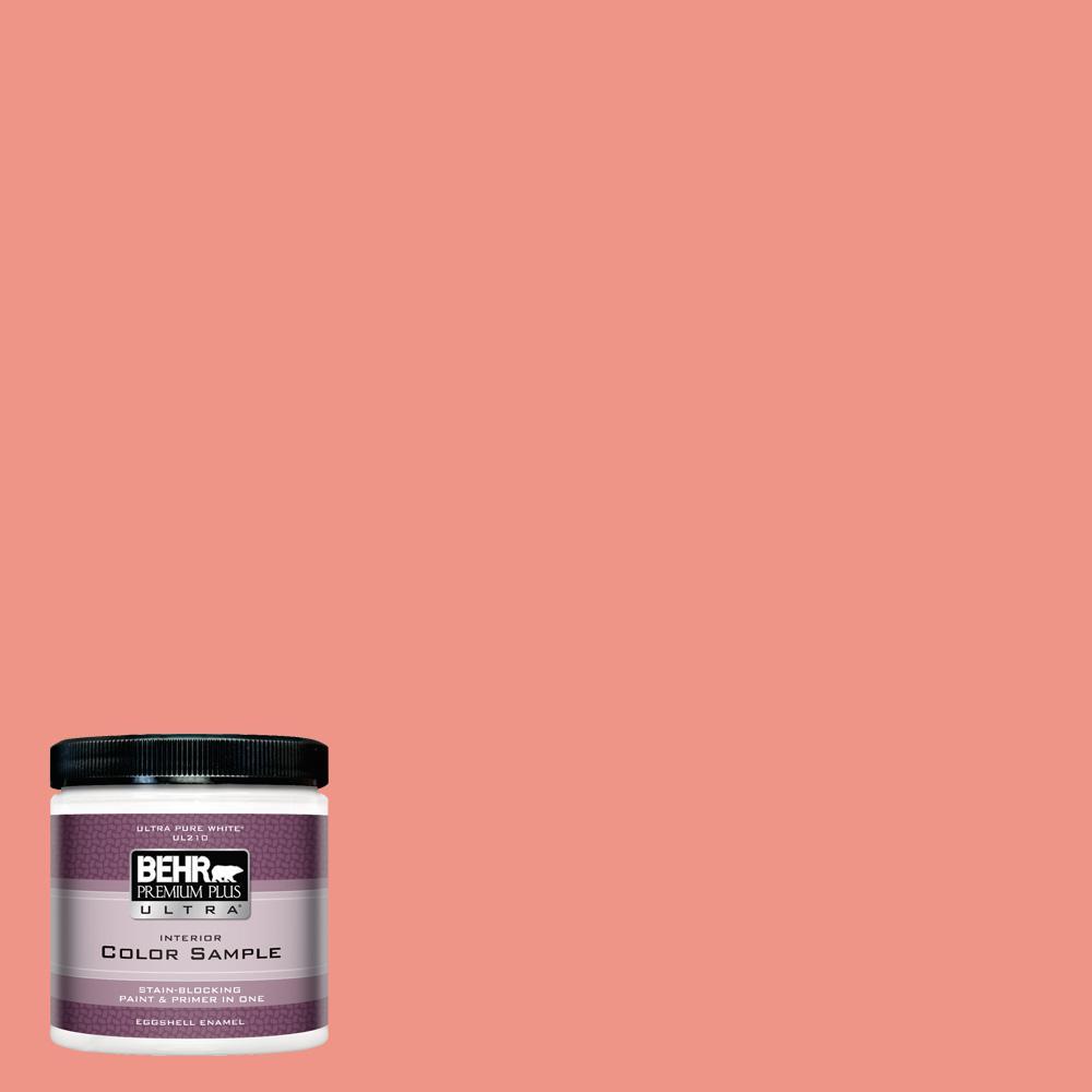 Behr Premium Plus Ultra 8 Oz P180 4 Guava Jelly Eggshell