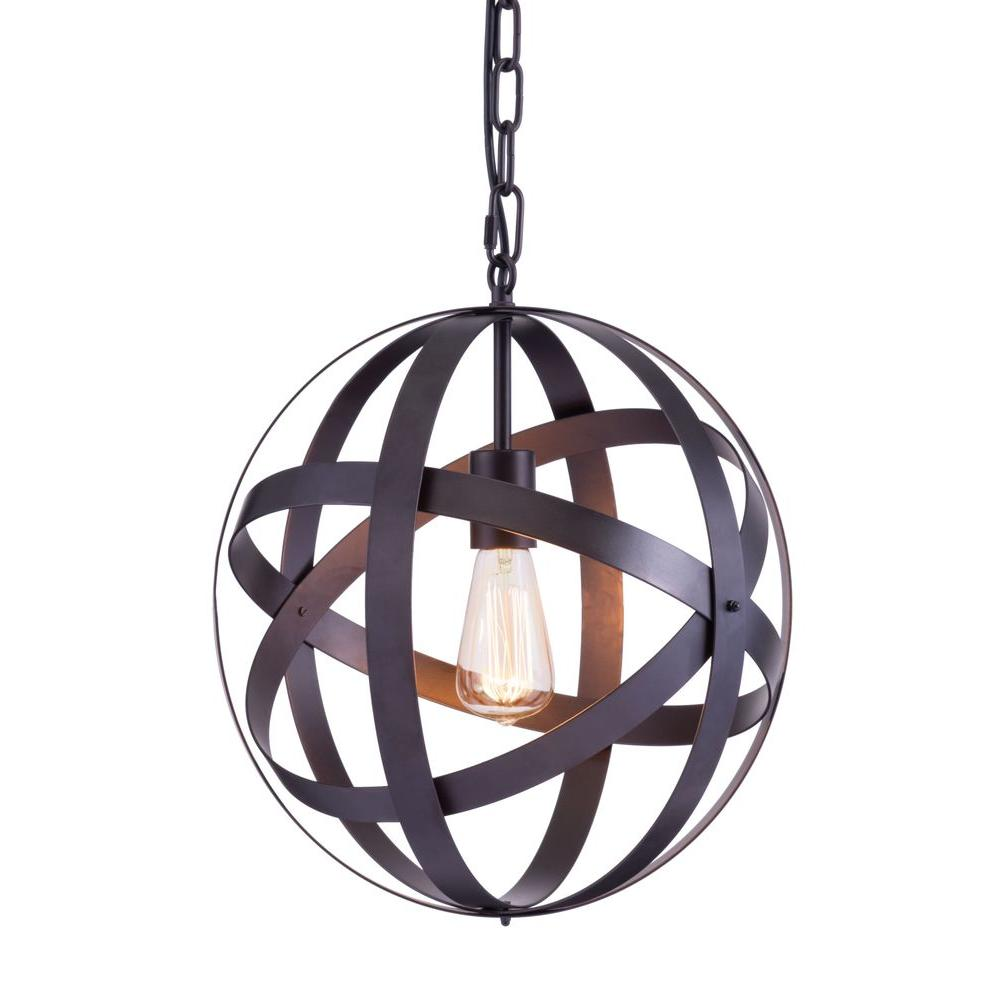 ZUO Plymouth Rust Ceiling Lamp-98418