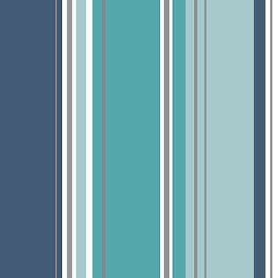 8 in. x 10 in. Energy Blue Striped Sample