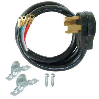 6 ft. 10 4-Wire Electric Dryer Plug