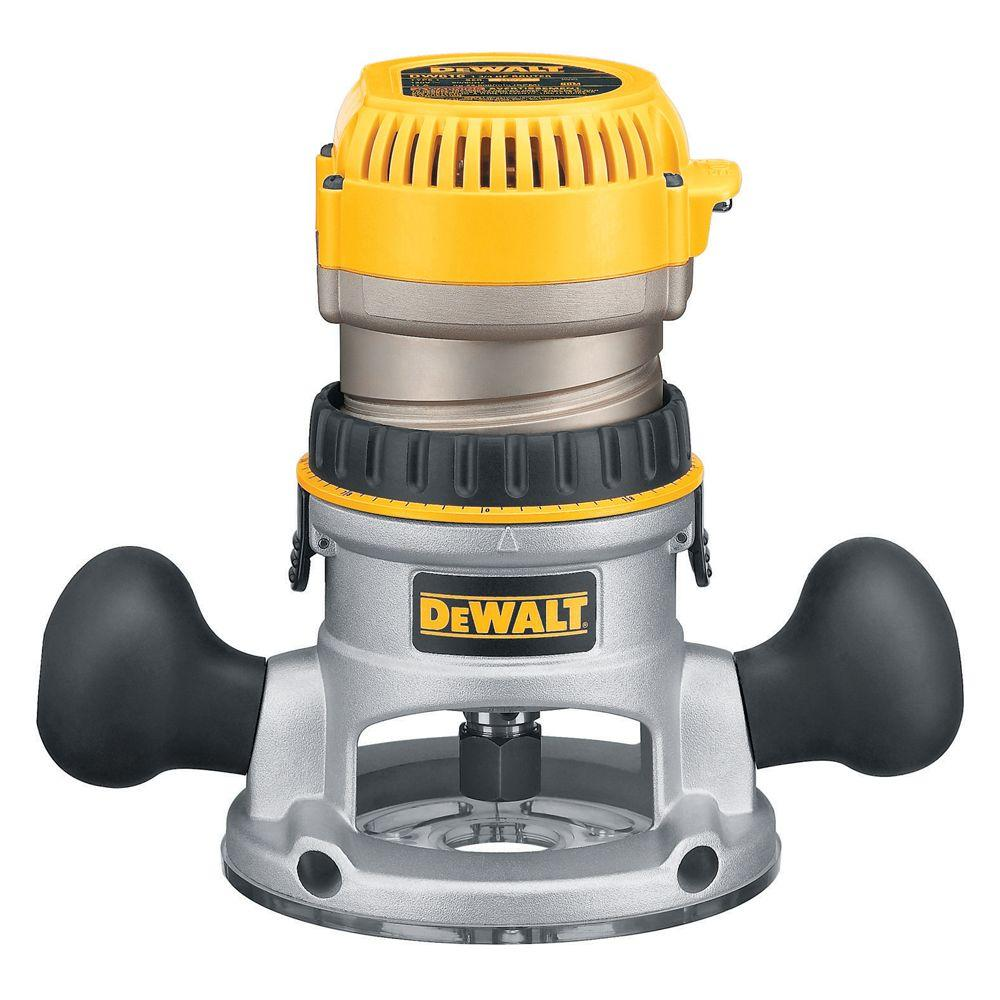 Dewalt 175 hp fixed base router dw616 the home depot dewalt 175 hp fixed base router keyboard keysfo Image collections
