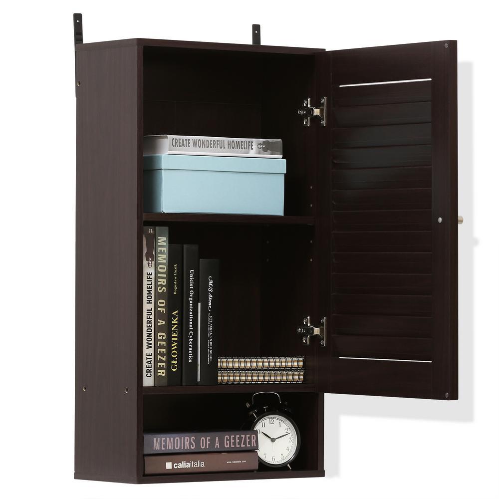 Indo Espresso Wide Wall Cabinet