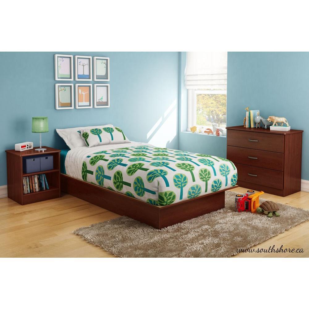 Libra Twin Kids Platform Bed