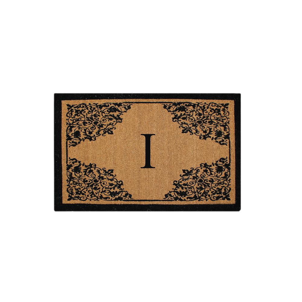 A1hc Hand Crafted 30 In X 48 In Monogrammed I Courtyard