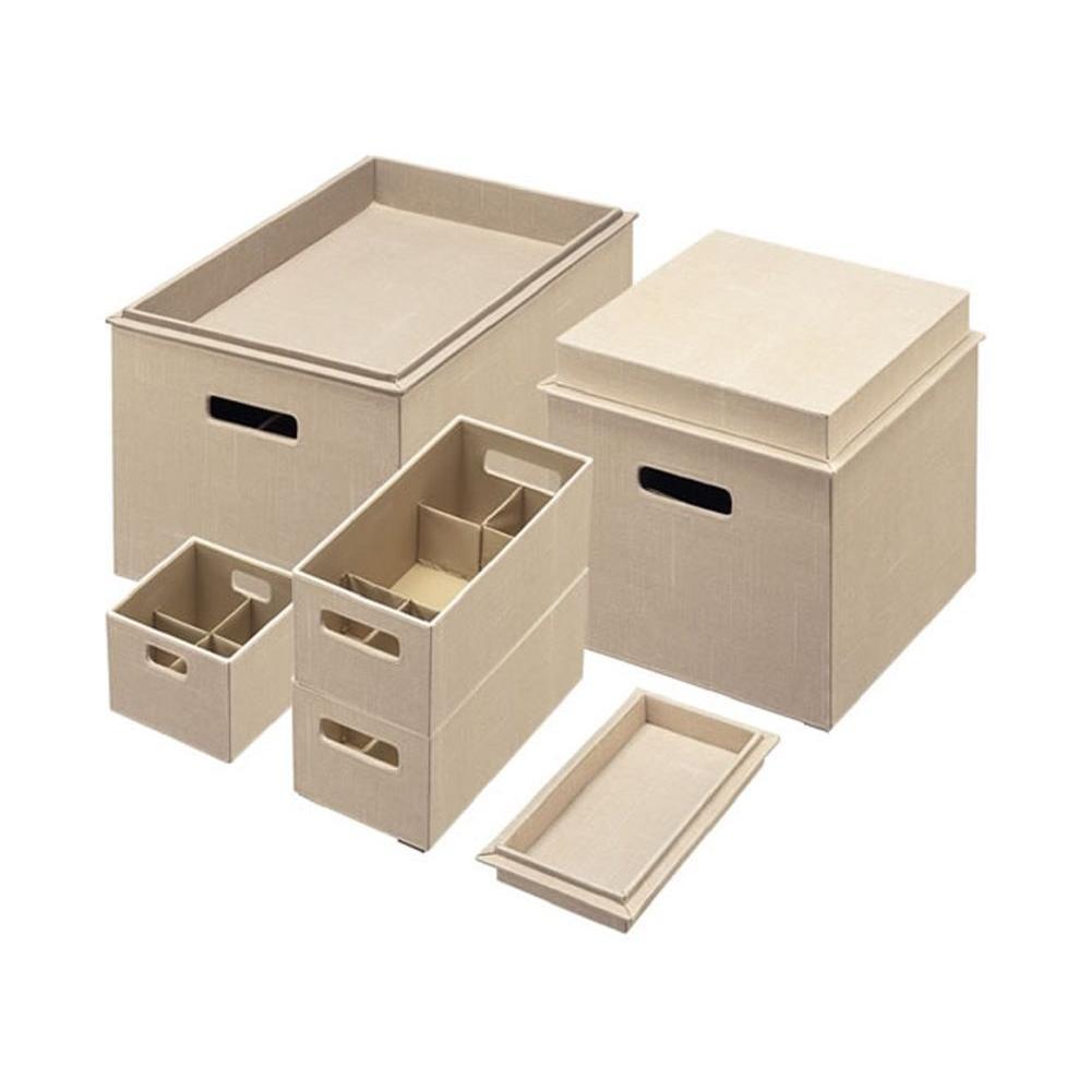 Rubbermaid Bento Loose Linen Storage Box Set (8-Piece)