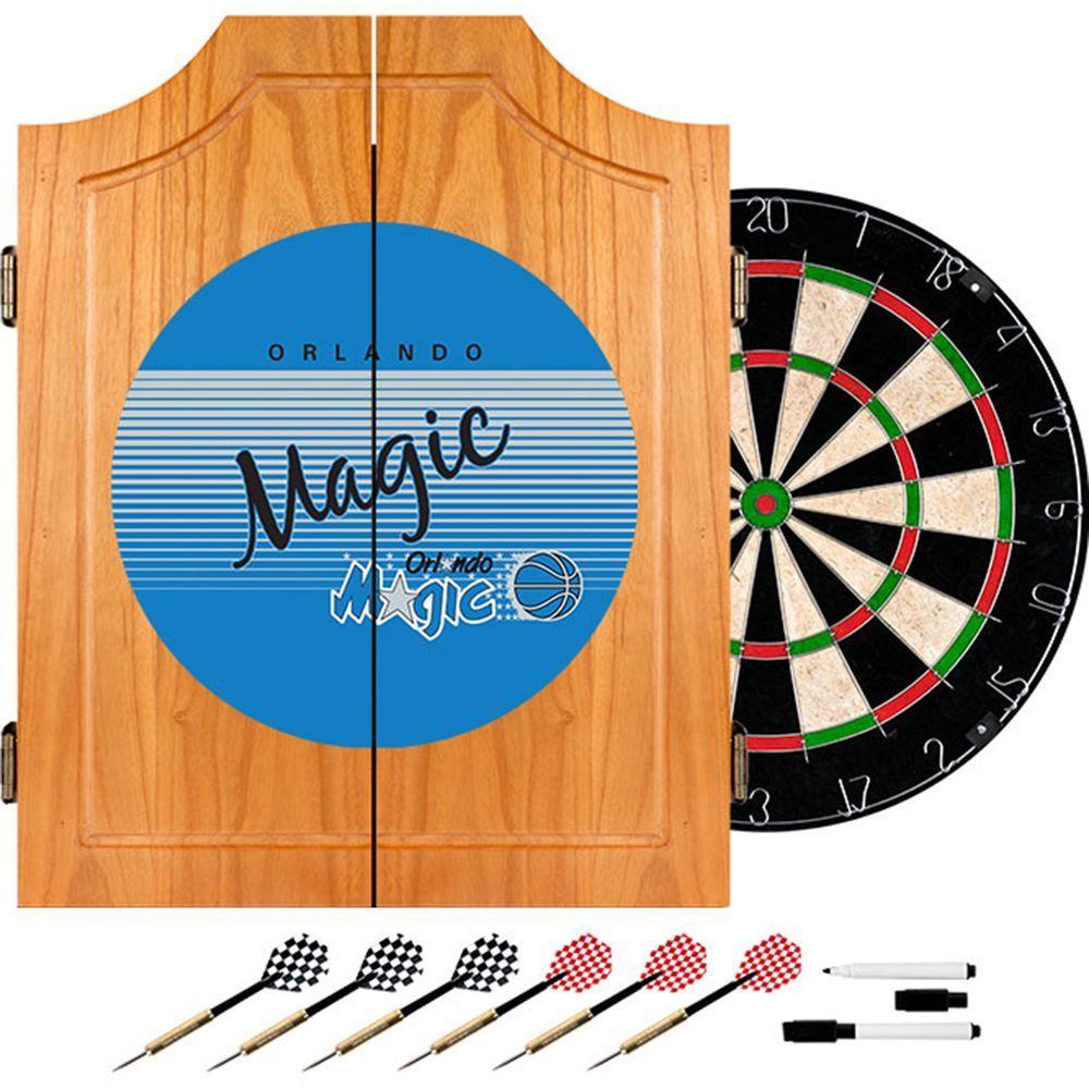Orlando Magic Hardwood Clics Nba Wood Dart Cabinet Set