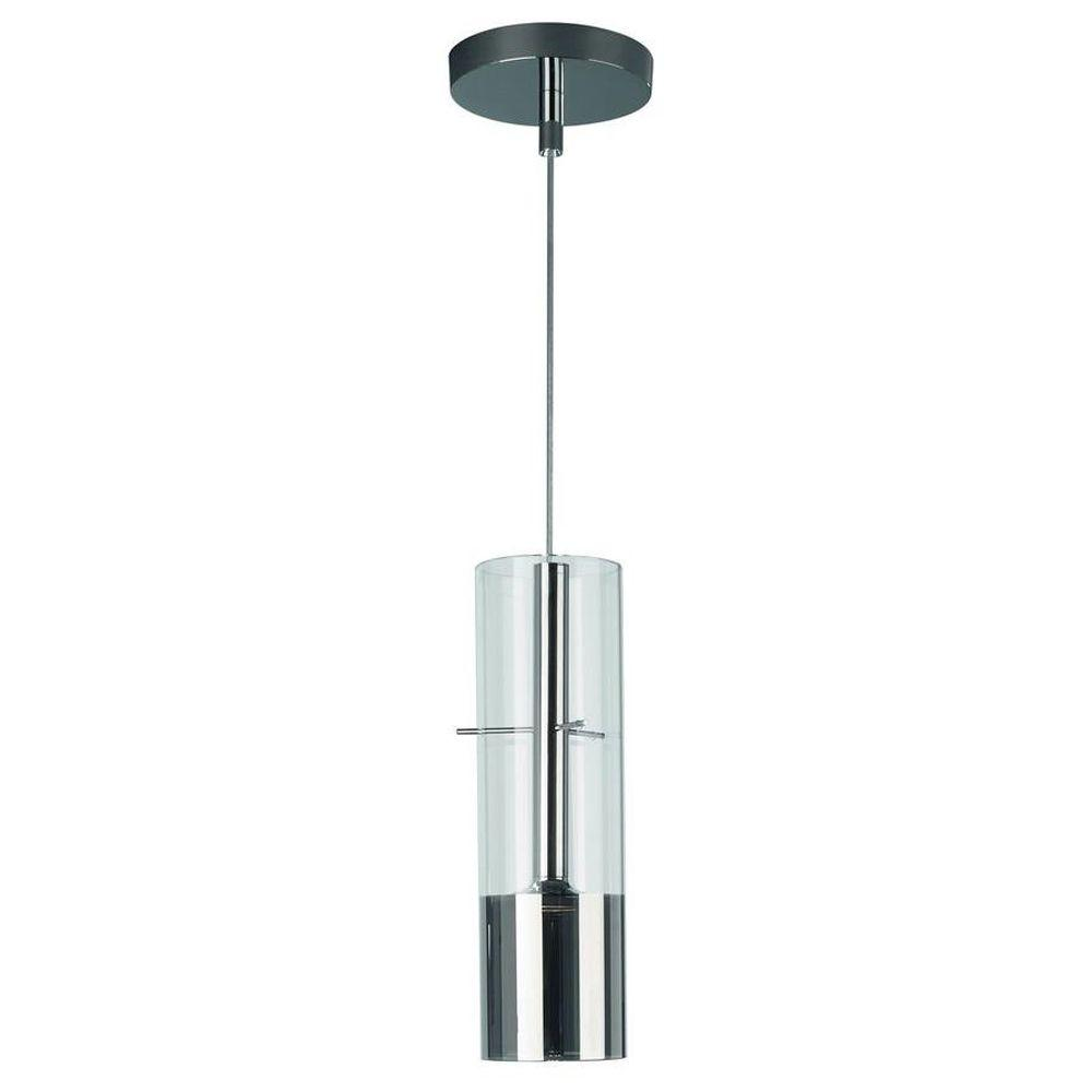 Philips Tubuled 1-Light Chrome LED Hanging Pendant