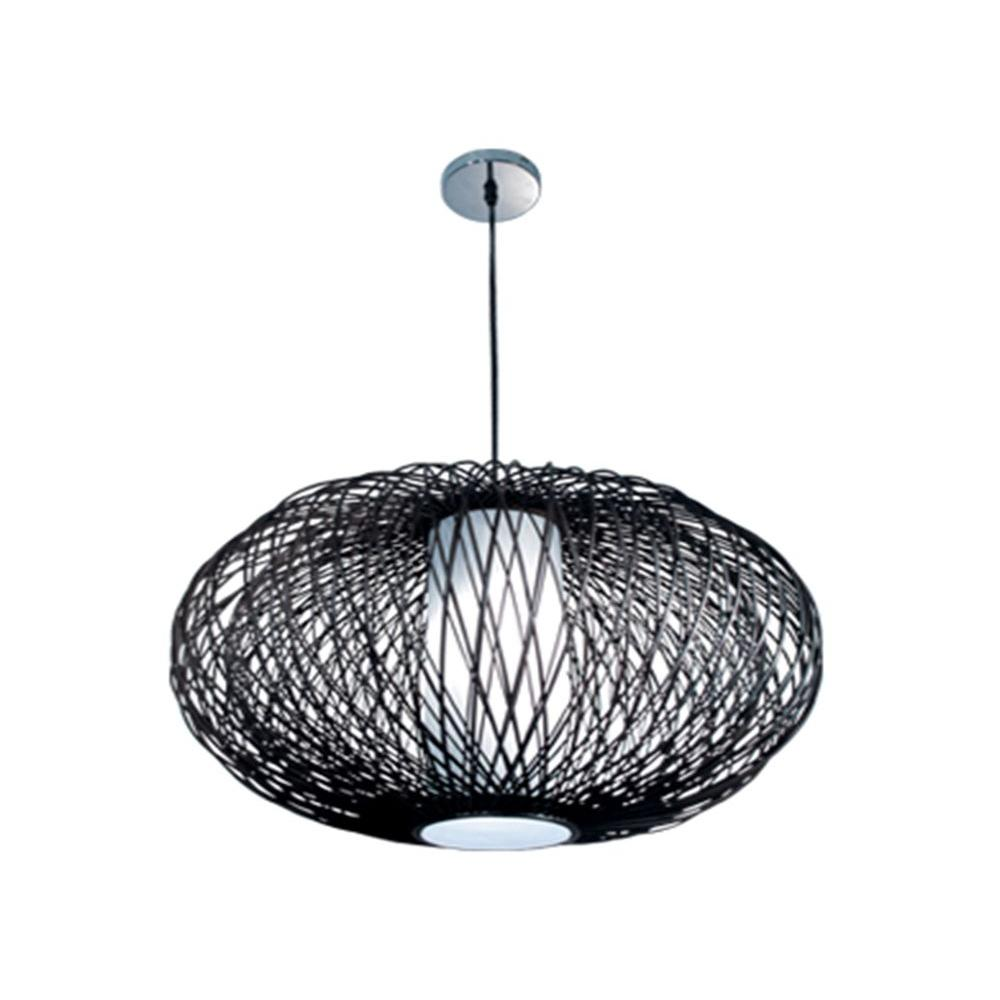 BAZZ VIBE Collection 1-Light Chrome Hanging Pendant