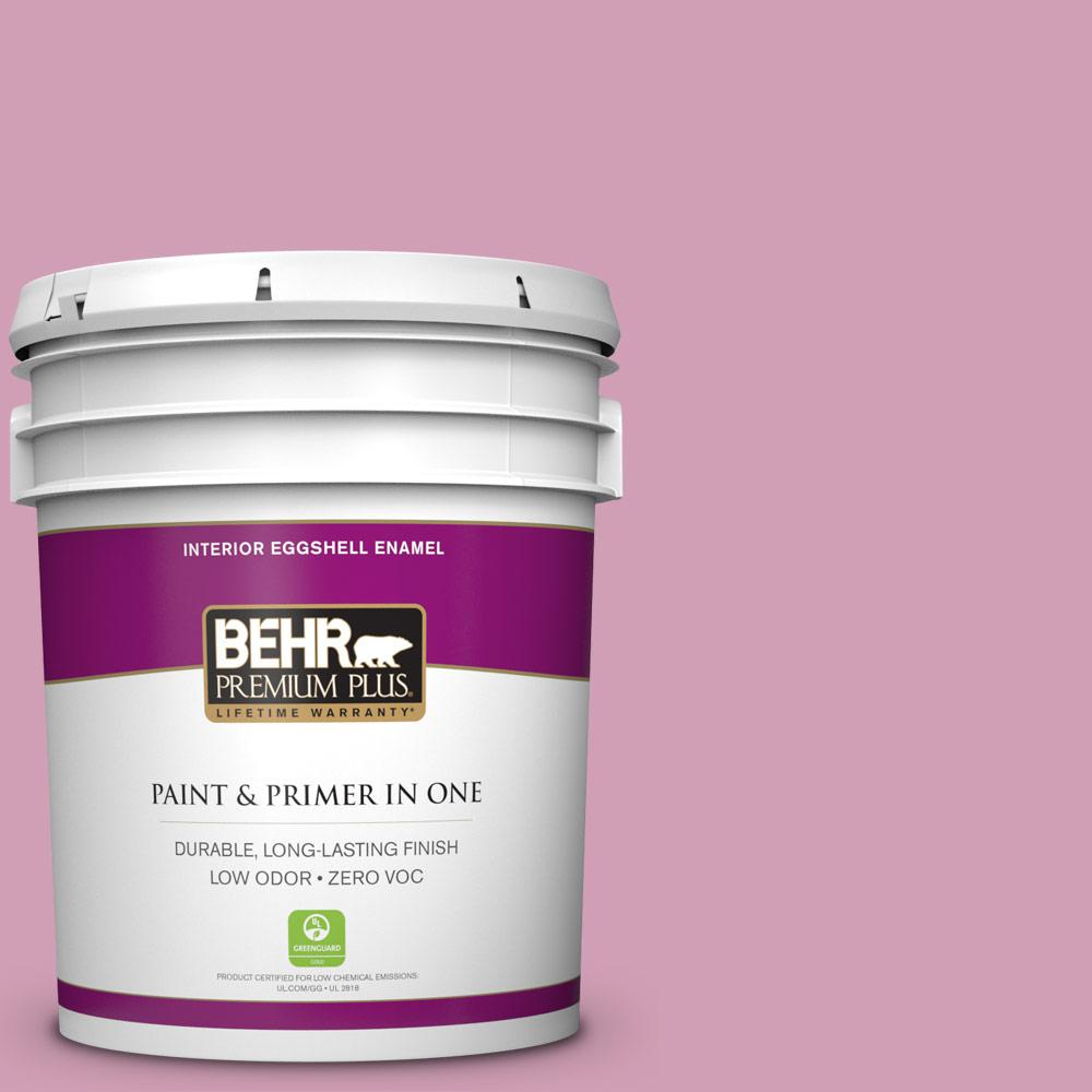 BEHR Premium Plus 5-gal. #M130-4 Raspberry Smoothie Eggshell Enamel Interior Paint