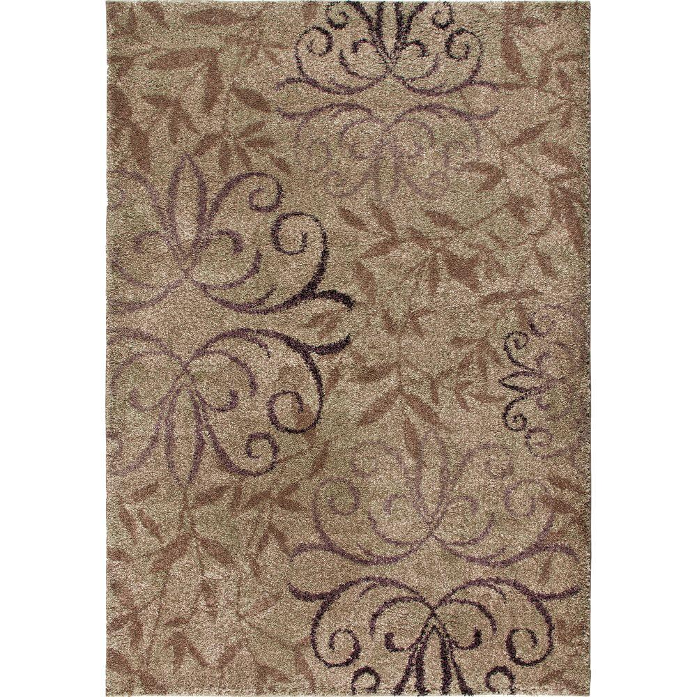 null Dakota Taupe 7 ft. 10 in. x 10 ft. 10 in. Indoor Area Rug