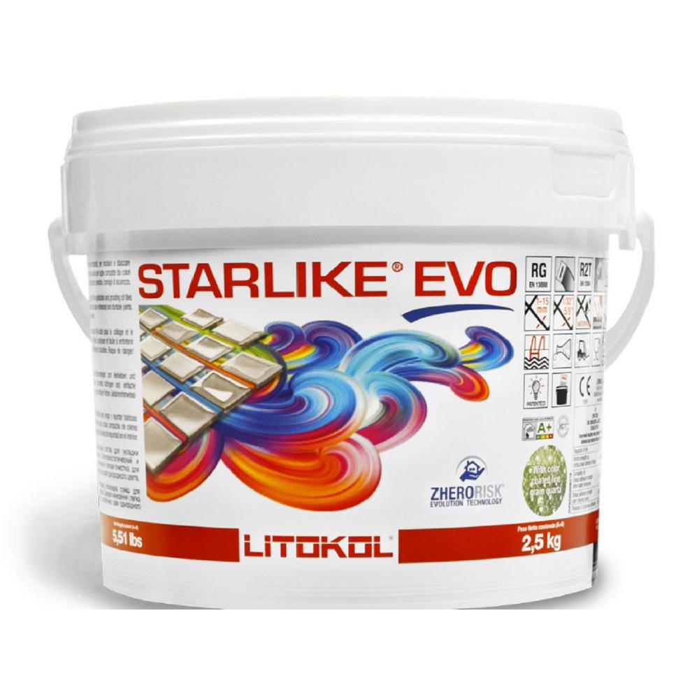 2.5 kg - 5.5 lb. Starlike EVO 320 Azzurro Caraibi