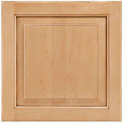 14-9/16x14-1/2 in. Cabinet Door Sample in Charlottesville Maple Coffee Glaze