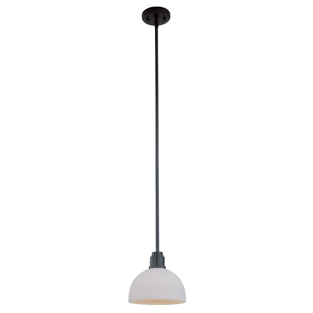 Filament Design Lawrence 1-Light Dark Bronze Incandescent Ceiling Pendant