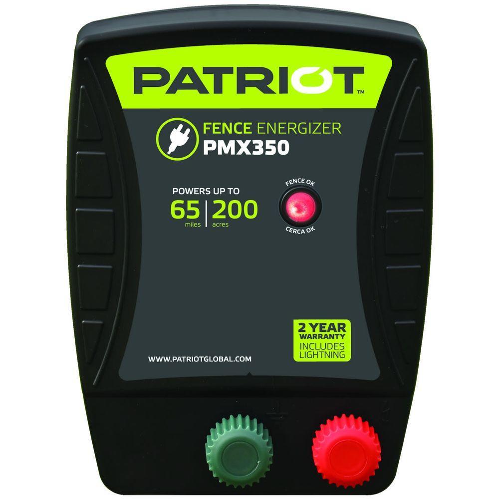 Patriot PMX350 Fence Energizer - 3.5 Joule