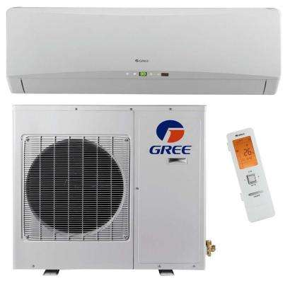 Ultra Efficient 9,000 BTU (3/4 Ton) Ductless (Duct Free) Mini Split Air Conditioner with Inverter, Heat, Remote 208-230V