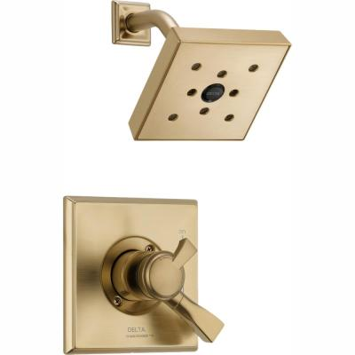 Dryden 1-Handle H2Okinetic Shower Only Faucet Trim Kit in Champagne Bronze (Valve Not Included)