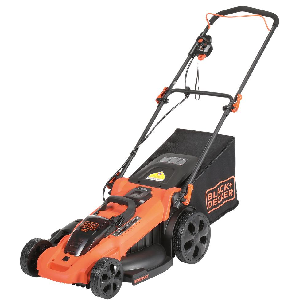 20 in. 40-Volt MAX Lithium-Ion Cordless Walk Behind Push Lawn Mower
