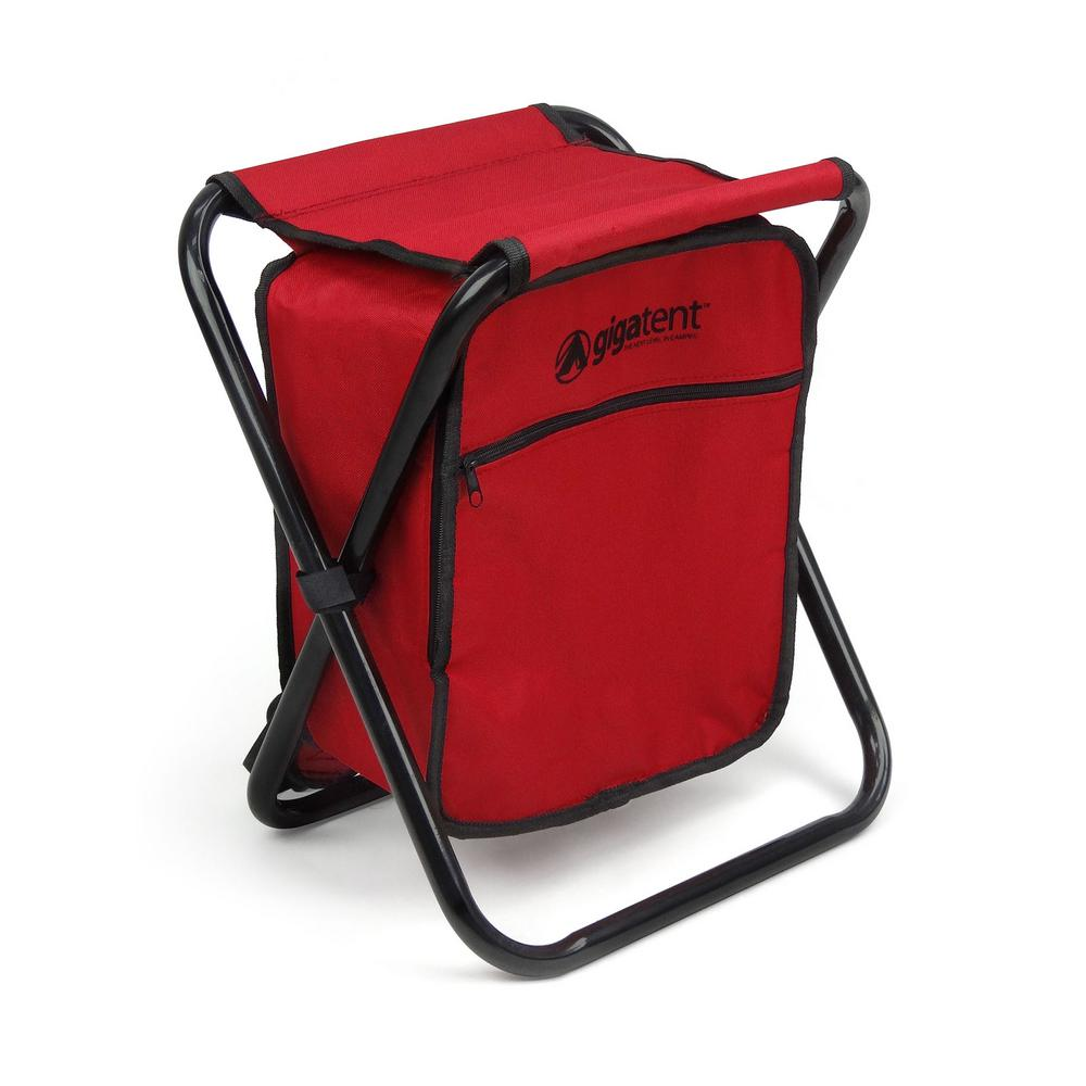 Red . Basket Lunch Picnic Food Folding Thick Insulated Cooler Camping Bag