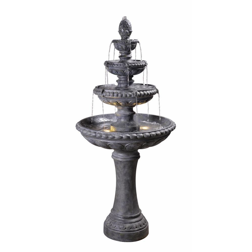 Tucson Resin Outdoor Floor Fountain