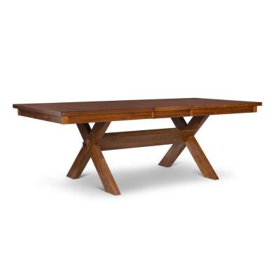 Kraven Dark Hazelnut Dining Table