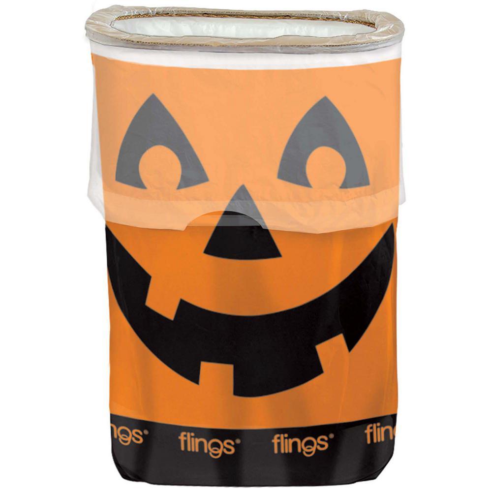 Amscan 22 inch Halloween Pop Up 13 Gal. Trash Bin (3-Pack) by