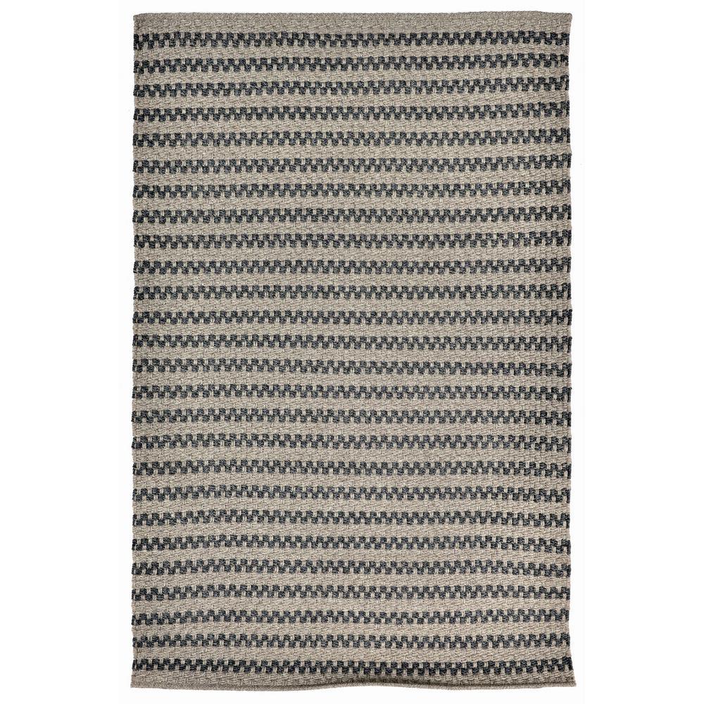 Walker Harris Grey 5 ft. x 7 ft. 6 in. Rectangle Indoor/Outdoor Area Rug