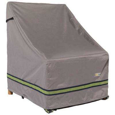 Soteria 36 in. Grey Chair Cover