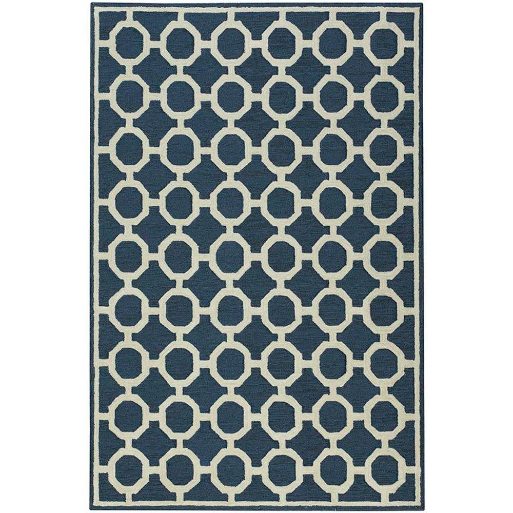 Home Decorators Collection Espana Denim 5 ft. x 7 ft. 6 in. Area Rug