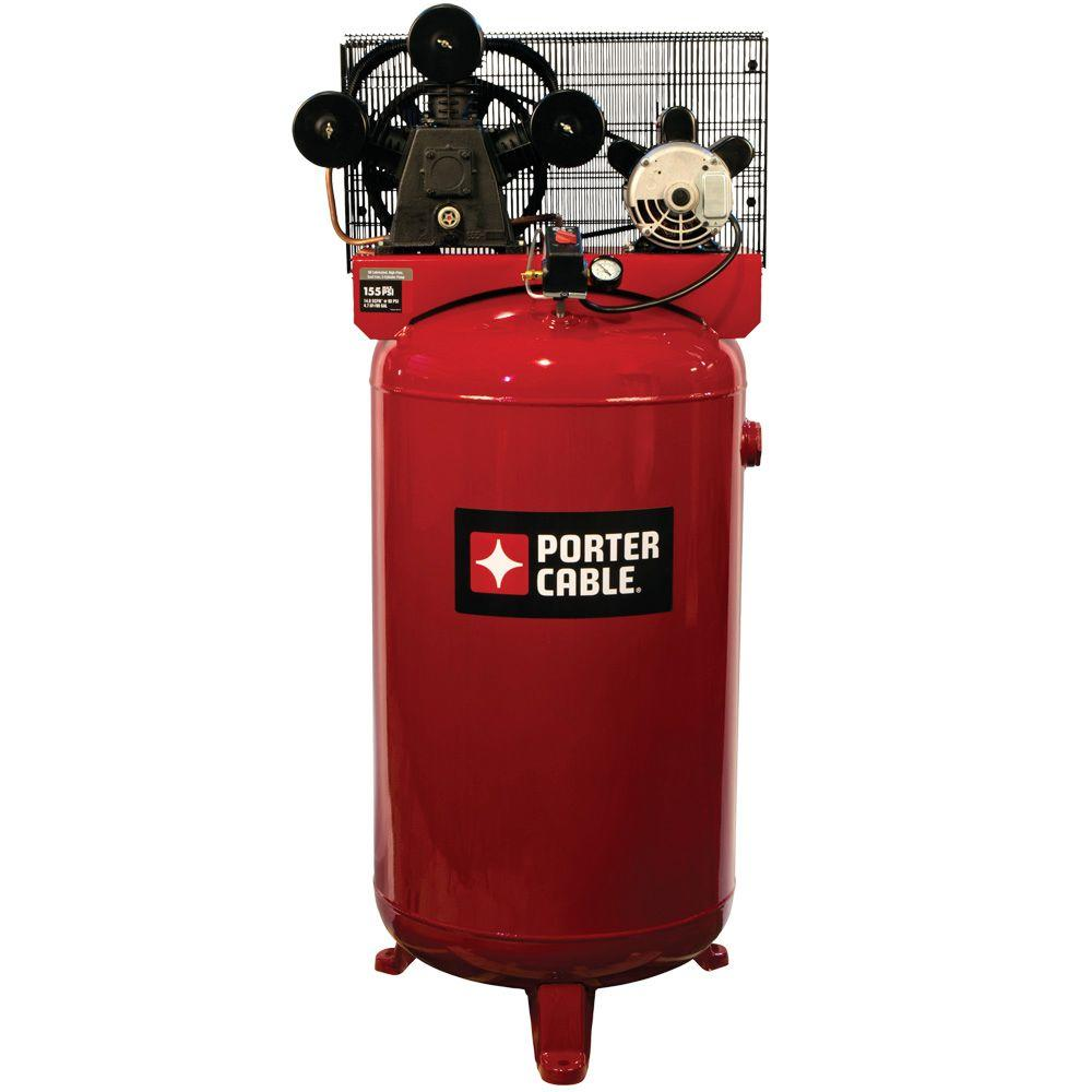 Porter-Cable 80 Gal. Vertical Stationary Air Compressor