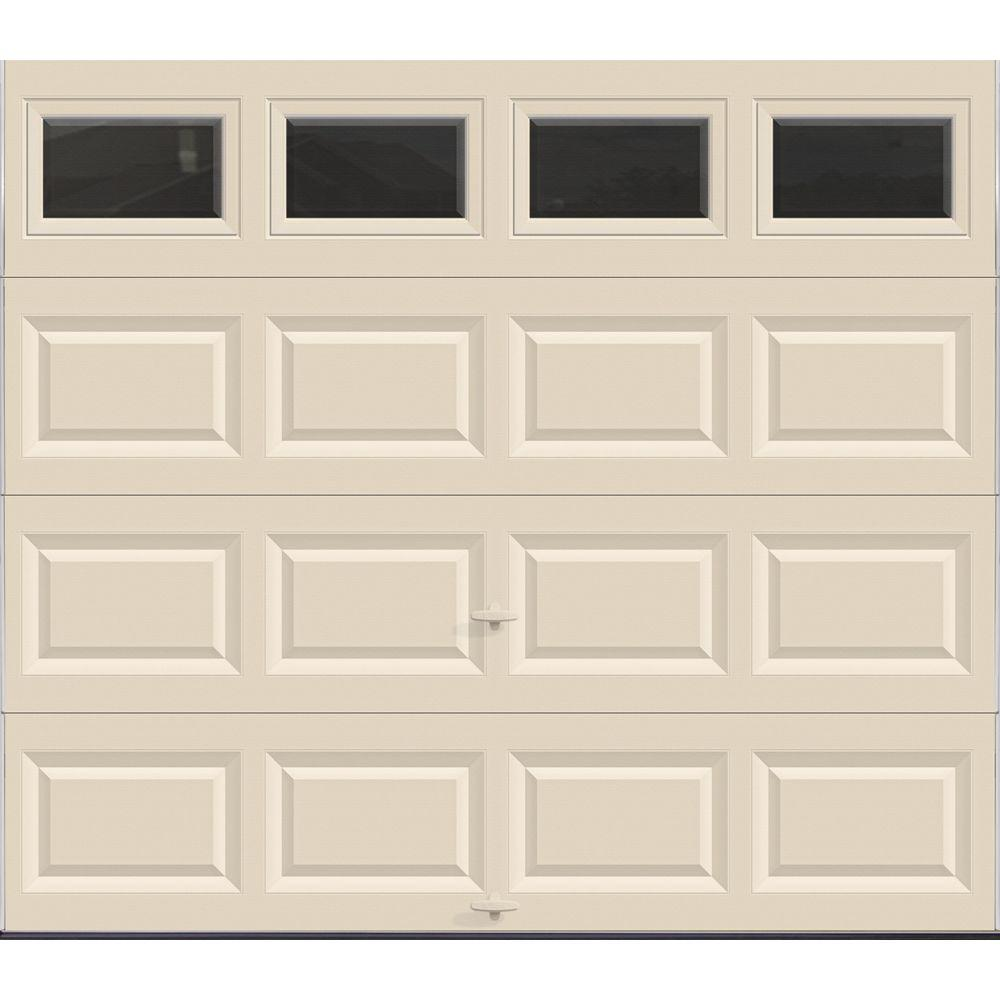 Value Series 8 ft. x 7 ft. Non-Insulated Almond Garage Door