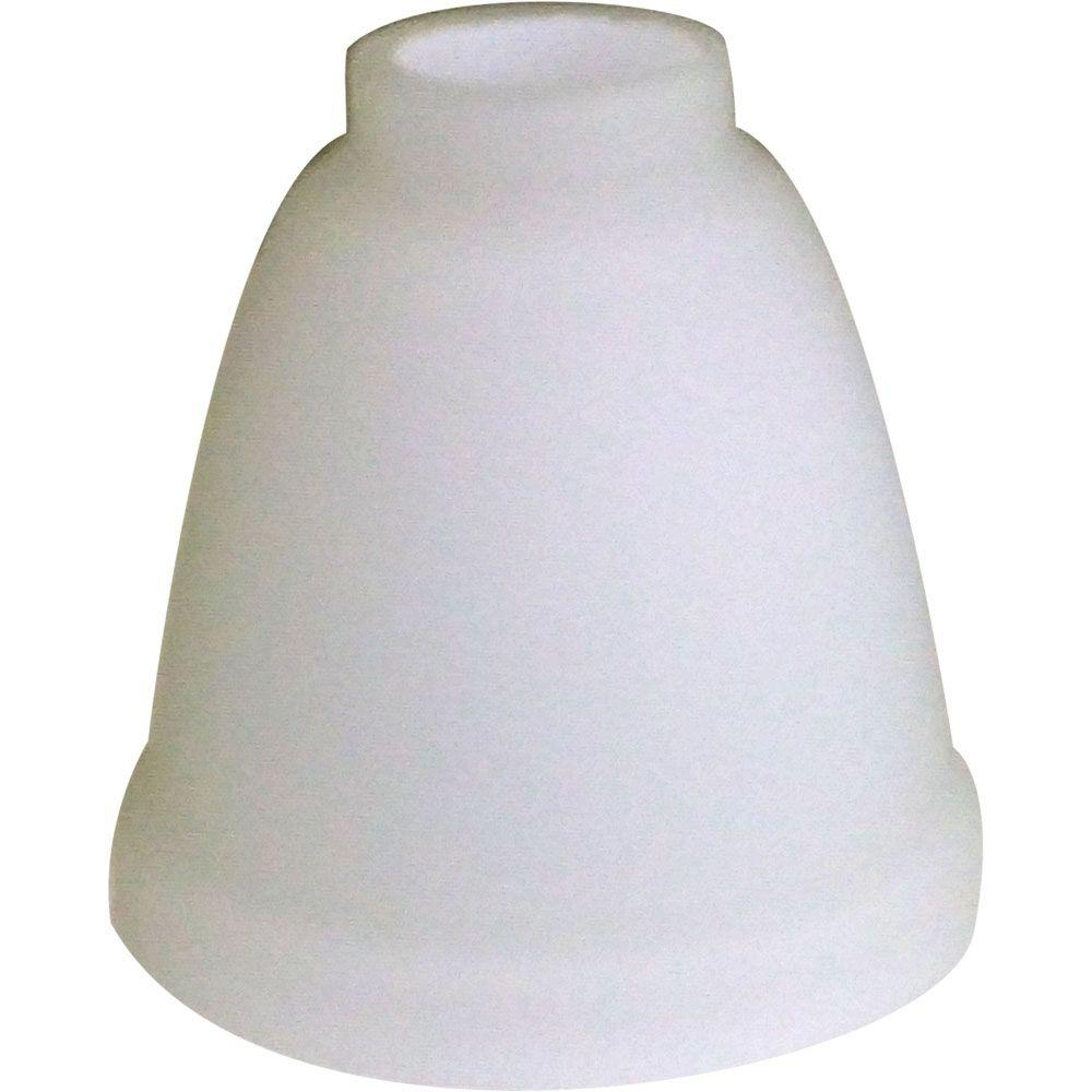 Lyndhurst Matte White Ceiling Fan Replacement Glass Shade