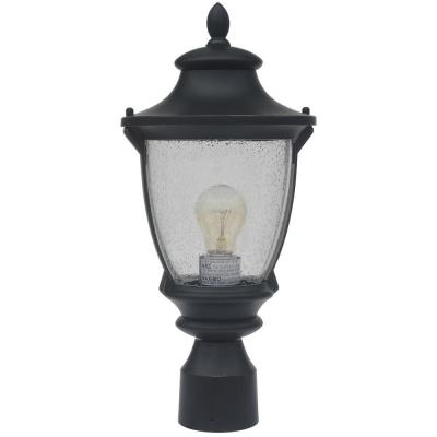 Wilkerson 1-Light Black Outdoor Post Mount