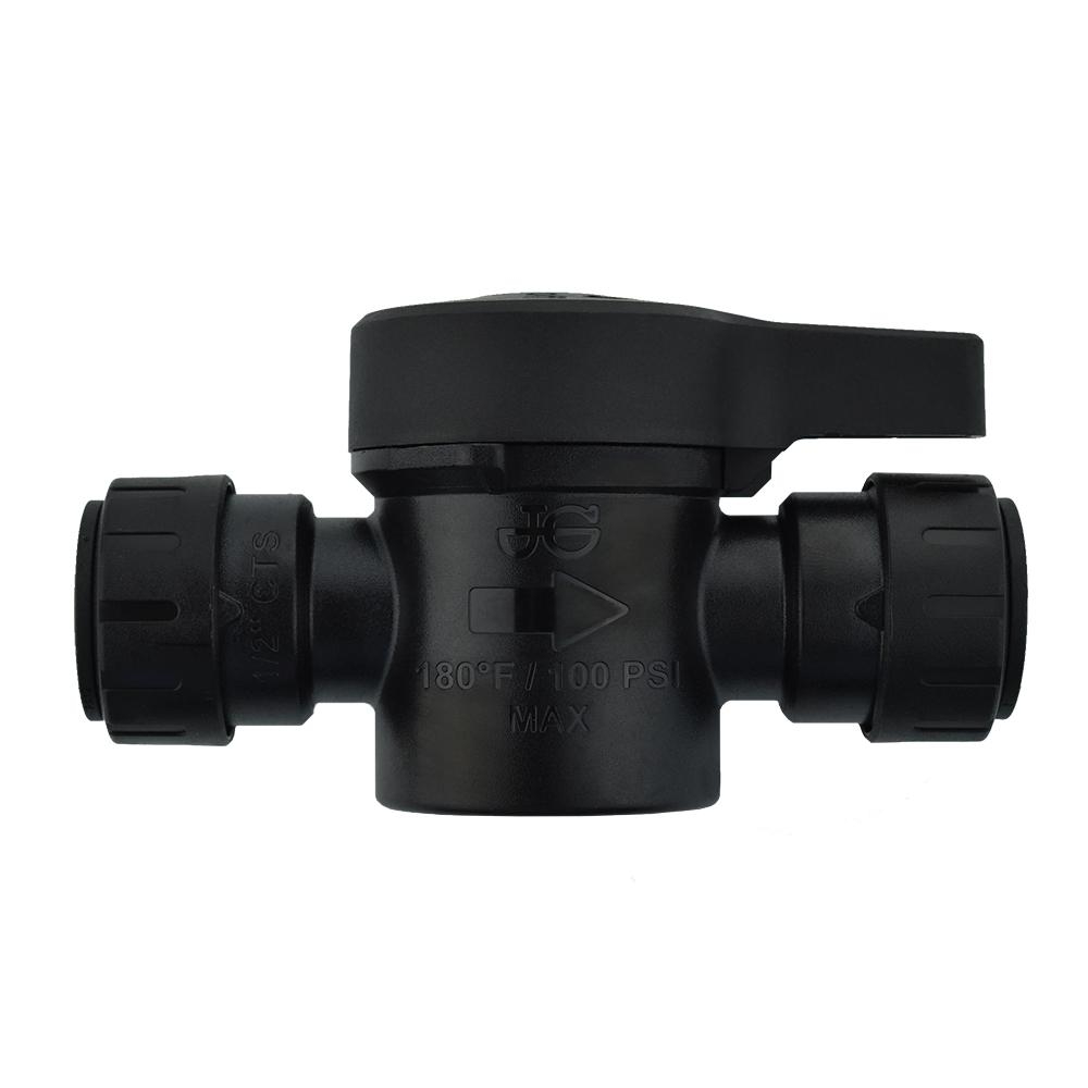 JG ProLock 1/2 in. CTS ProLock Push-to-Connect Shut-Off Valve ...