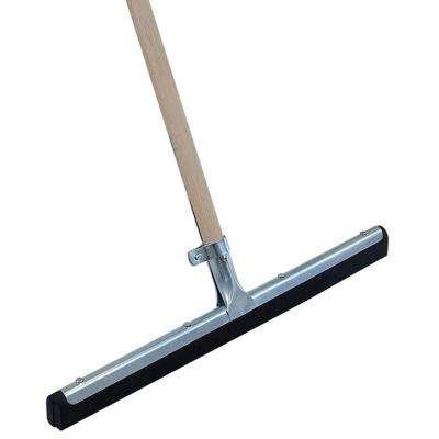 18 in. Moss Floor Squeegee with Handle (6-Pack)