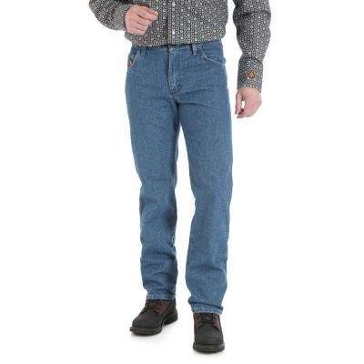 Men's Size 32 in. x 30 in. True Blue Regular Fit Jean